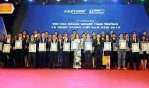 Đất Xanh vào Top 50 doanh nghiệp tăng trưởng xuất sắc nhất Việt Nam 2018
