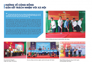 Đất Xanh Tây Nam Bộ tài trợ 1 tỷ đồng xây dựng nhà đoàn kết tỉnh Hậu Giang