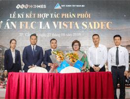 Đất Xanh Tây Nam Bộ ký kết hợp tác phân phối dự án FLC La Vista Sadec