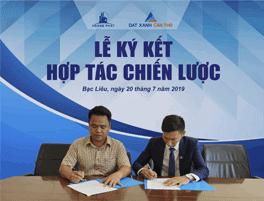 Hợp tác chiến lược triển khai dự án KĐT mới Hoàng Phát Bạc Liêu