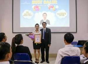 Bất Động Sản Cần Thơ | Đất Xanh Tây Nam Bộ khen thưởng Tháng 4