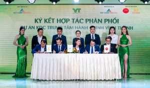 Tưng bừng Lễ ra quân dự án Khu dân cư trung tâm hành chính huyện Vĩnh Thạnh