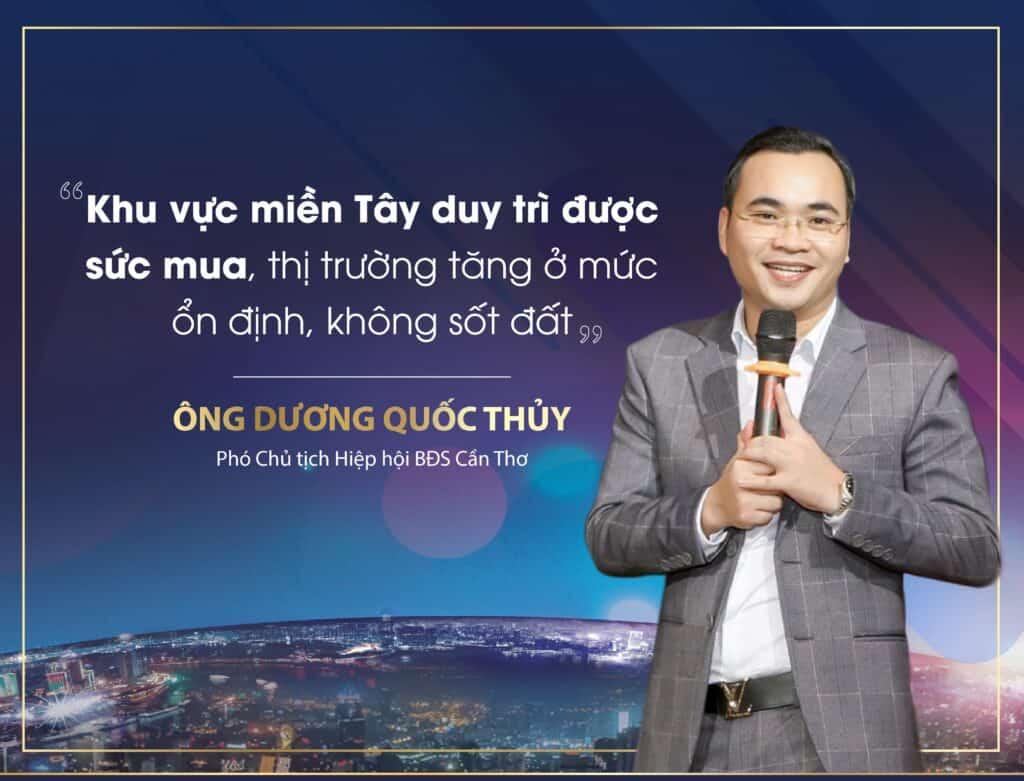 Ông Dương Quốc Thủy phó chủ tịch hiệp hội BDS Cần Thơ